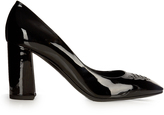Bottega Veneta Cherbourg patent-leather pumps