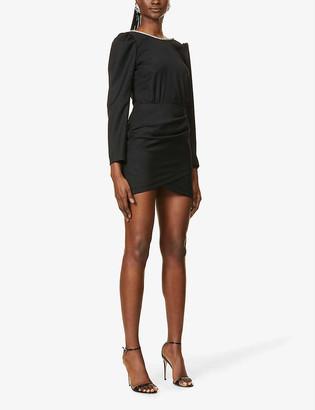 BA&SH Miroir wool mini dress