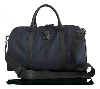 Versace Blue Polyester Bags