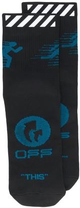 Off-White Logo Socks