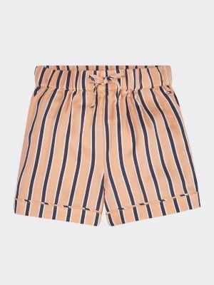 Tommy Hilfiger All-Over Stripe Pure Viscose Shorts