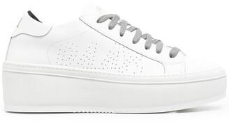 P448 Louise platform sneakers