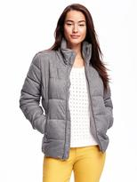 Old Navy Frost-Free Quilted Herringbone Jacket for Women