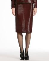 Gucci Calf Hair High-Waist Skirt