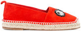 Anya Hindmarch eye embellished espadrilles - women - Calf Leather/Calf Suede - 36