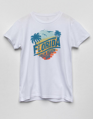 Full Tilt Florida Palm Girls Tee