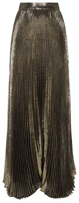 Alice + Olivia Alice+Olivia Katz Pleated Maxi Skirt