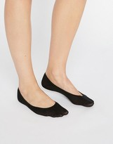 Jonathan Aston Black Cotton Footsie