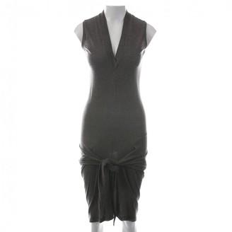 Rick Owens Brown Wool Dresses