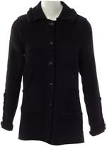 Chanel Black Wool Coats