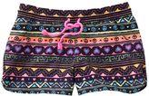 So geometric board shorts - girls 7-16