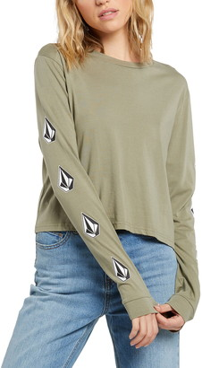 Volcom The Stone Long Sleeve Organic Cotton T-Shirt