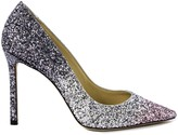 Jimmy Choo Glitter Romy Pointy Toe Pump