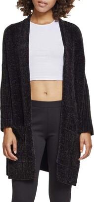 Urban Classics Women's Ladies Oversize Chenille Cardigan Sweater