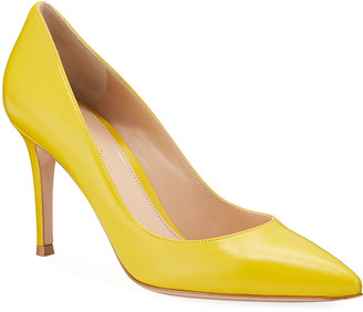 Gianvito Rossi Napa Glove Pointed Pumps