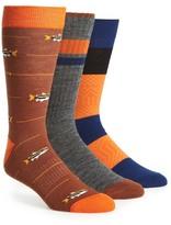 Richer Poorer 3-Pack Wool Blend Socks