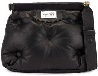 Maison Margiela Glam Slam Shoulder Bag in Black   FWRD