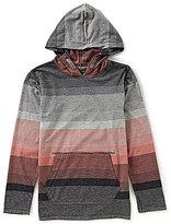 First Wave Big Boys 8-20 Striped Hoodie Shirt