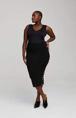 Marsté Marste Milan Snap Skirt in Flourish Size 10