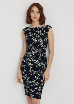 Ralph Lauren Floral Boatneck Dress