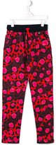 Kenzo 'Jungle' track pants - kids - Cotton/Spandex/Elastane - 14 yrs