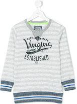 Vingino striped sweatshirt - kids - Cotton/Polyester - 4 yrs