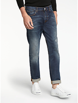 Paul Smith Tapered Fit Jeans, Mid Wash