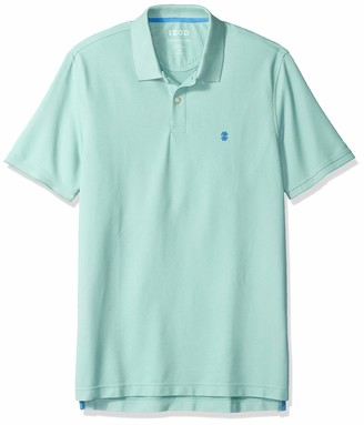Izod Men's Regular Fit Advantage Performance Short Sleeve Solid Polo