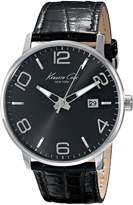 Kenneth Cole New York Kenneth Cole Men's Dress Sport KC8005 Leather Quartz Watch