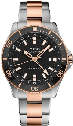 MIDO Ocean Star GMT Automatic Bracelet Watch, 44mm