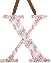 Pottery Barn Kids Printed Letter - X