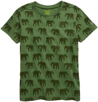 Hatley Elephant Herd Graphic Tee
