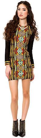 MinkPink The Tiki Hut Dress