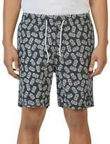 Barney Cools Amphibious Pineapple Swim Trunks
