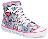 Stride Rite Girl's My Little Pony High Top Sneaker