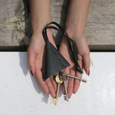 Aura Que Leather Keychain Sali Keyring