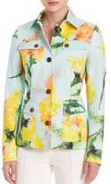 Escada Carnation-Print Jacket