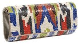 The Well Appointed House Hand Beaded Tribal Ikat Clutch