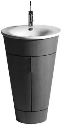 Philippe Starck Duravit 1 Ceramic Circular Vessel Bathroom Sink with Overflow Duravit