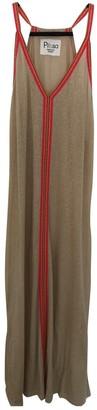 Pitusa Beige Cotton Dresses