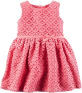 Carter's Geometric Lace Dress