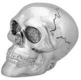 Summit Chrome Skull Shift Knob - Collectible Figurine Statue Sculpture Figure