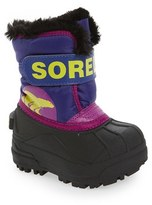 Sorel Infant 'Snow Commander' Boot