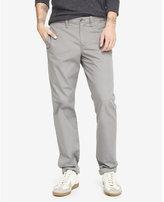 Express modern fit camden gray chino pant