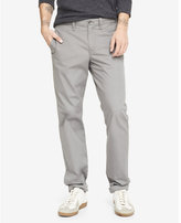 Express Modern Fit Gray Chino Pant