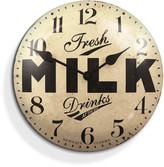 Newgate Clocks - Milk Tin Clock - 50cm dia
