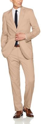 Kroon Men's Aim Active Inspired Movement Poplin Suit with Flex Lining