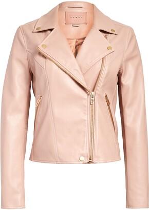 Blanknyc Denim Life Changer Faux Leather Moto Jacket