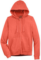 American Rag Men's Washed Fleece Zip Hoodie with Pockets, Only at Macy's