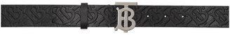 Burberry Black Plaque Belt
